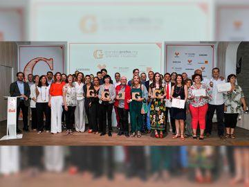 Foto de grupo de los premios 'Grandes Profes, Grandes Iniciativas