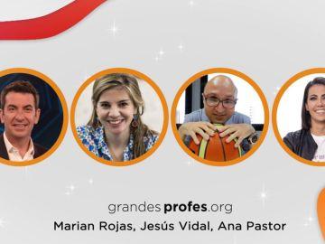 La Fundación ATRESMEDIA, SANTILLANA y SAMSUNG vuelven a convocar con ilusión ¡Grandes Profes! 2020