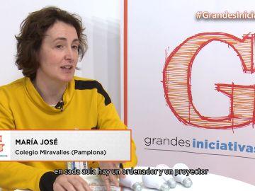 La profesora de Matemáticas y Robótica Maria José Ruso nos habla del uso de la tecnología en las aulas.