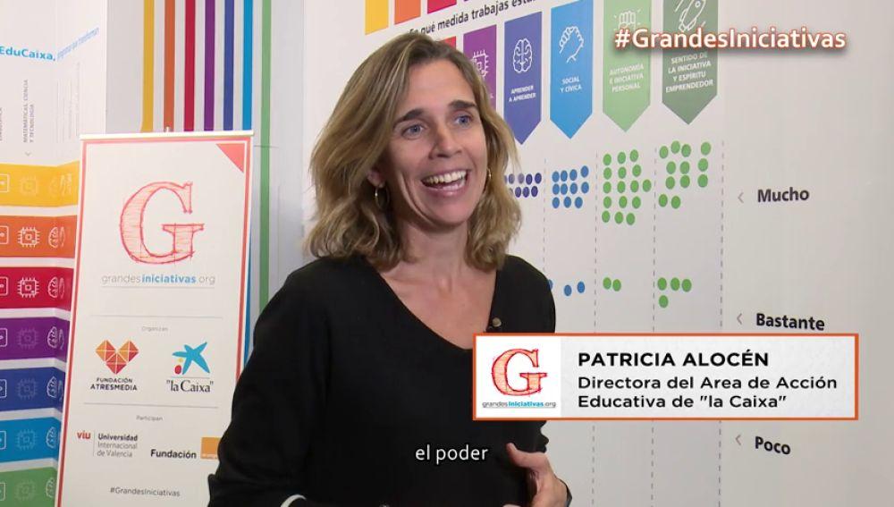 Patricia Alocén te cuenta por qué la Caixa coorganiza los premios Grandes Iniciativas