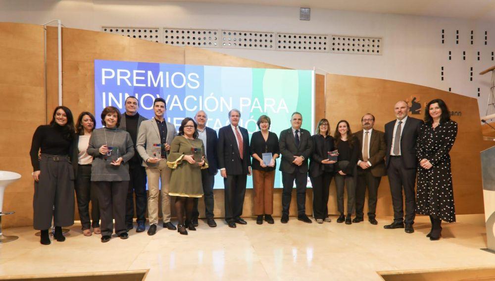 """Entrega de premios """"Innovación para la Orientación Profesional"""""""