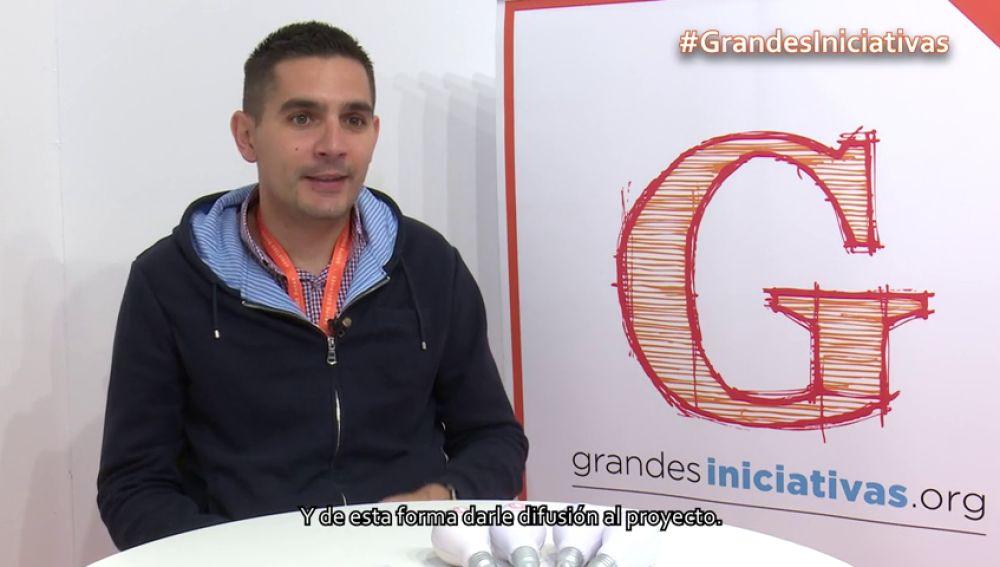 Ángel García nos explica de qué trata la iniciativa que está llevando a cabo en su centro.