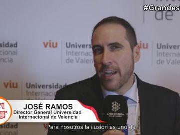 Universidad Internacional de Valencia en ¡'Grandes Profes'!