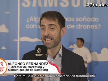 Samsung en ¡'Grandes Profes'!
