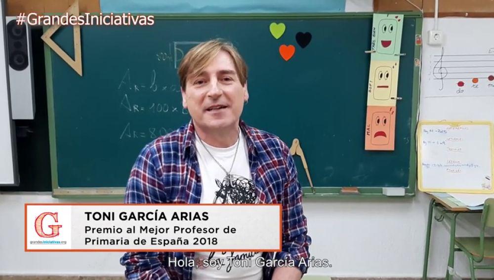 Toni García Arias te invita a participar en la 7ª edición de los Premios 'Grandes Iniciativas'