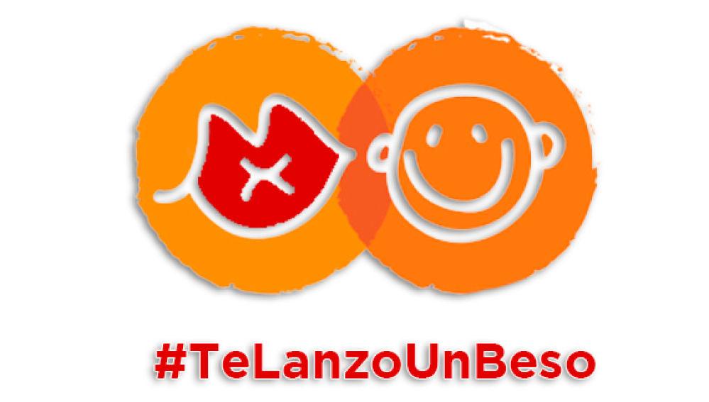 #TeLanzoUnBeso