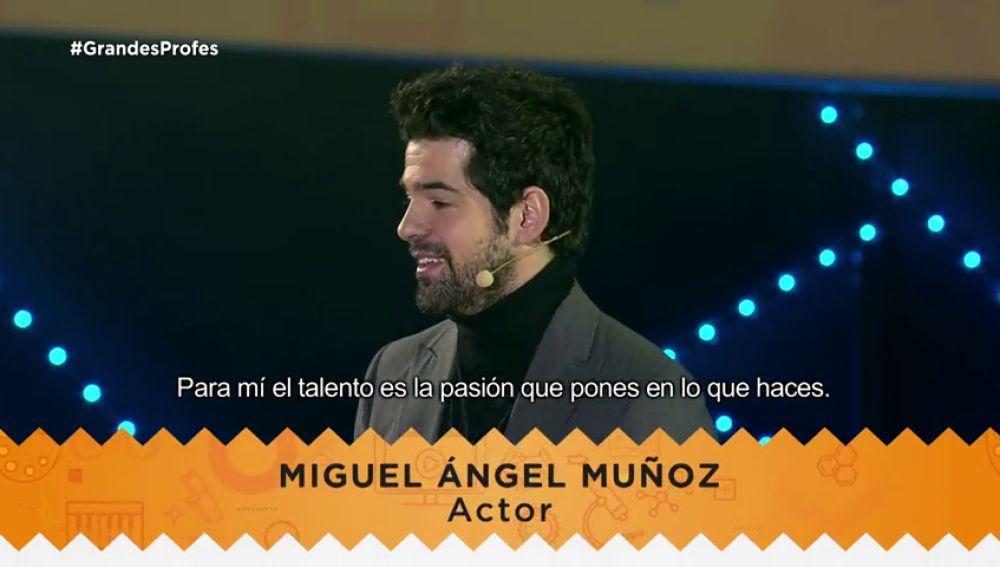 Mensajes de motivación y todo nuestro apoyo a los Grandes Profes: Miguel Ángel Muñoz