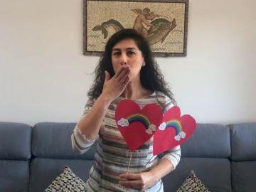 El Consejo General de Enfermería lanza sus besos