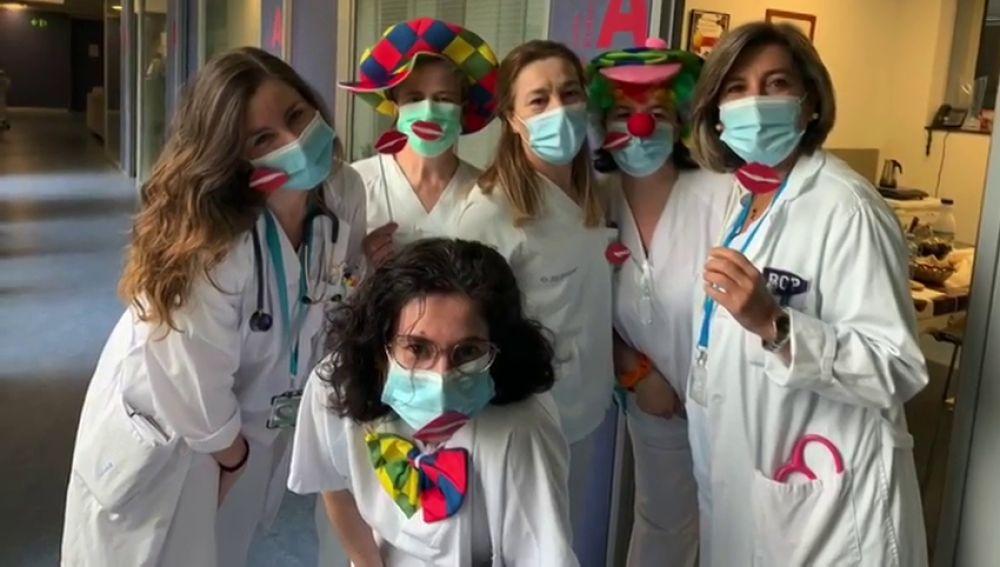 El Hospital Lucus Augusti lanza besos redondos