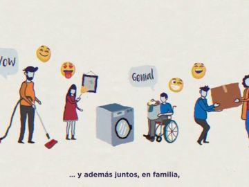 Compartir las tareas del hogar en familia