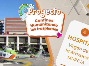 El Hospital Virgen de la Arrixaca presenta el proyecto Confines