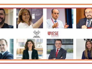 Ponentes presentación online El reto de la FP en España