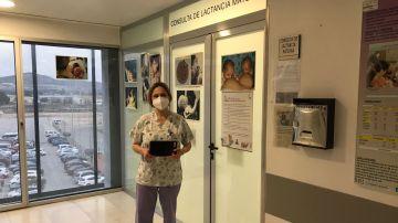 Consulta de lactancia materna en el Hospital Virgen del Castillo