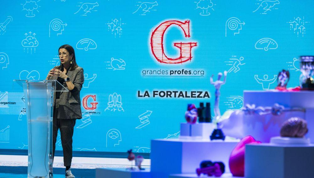 Luisa González en el Evento Grandes Profes