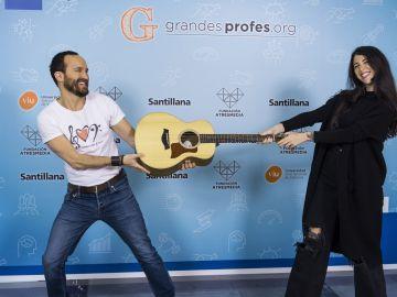 Bely Basarte y Juan Antonio Simarro en el Evento Grandes Profes 2021
