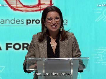 Dra. Luisa González habla de la fortaleza en Grandes Profes