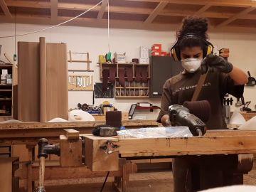 Alumnos amantes de la madera llevan disfrutando 10 años de la experiencia Erasmus