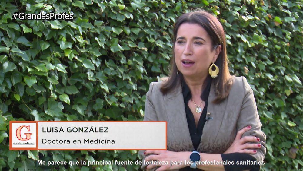 Luisa González: La educación es la forma de conseguir que el mundo sea mejor