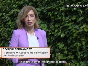 Conchi Fernández y el papel de los profesores en el ámbito de la Competencia Digital