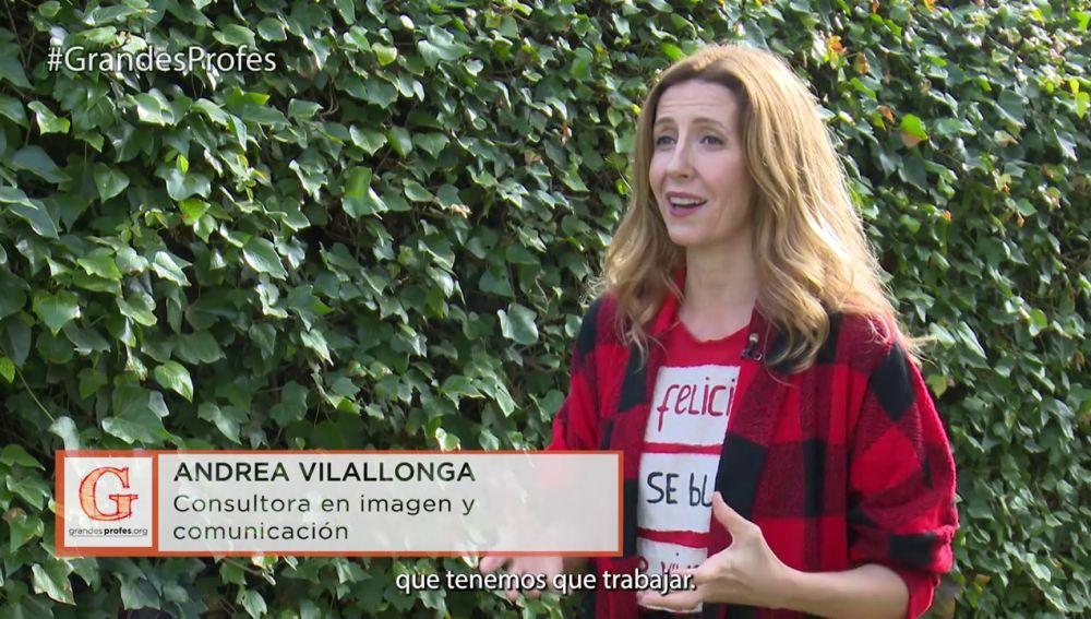 """Andrea Vilallonga: """"La positividad es una de las fortalezas que tenemos que trabajar"""""""