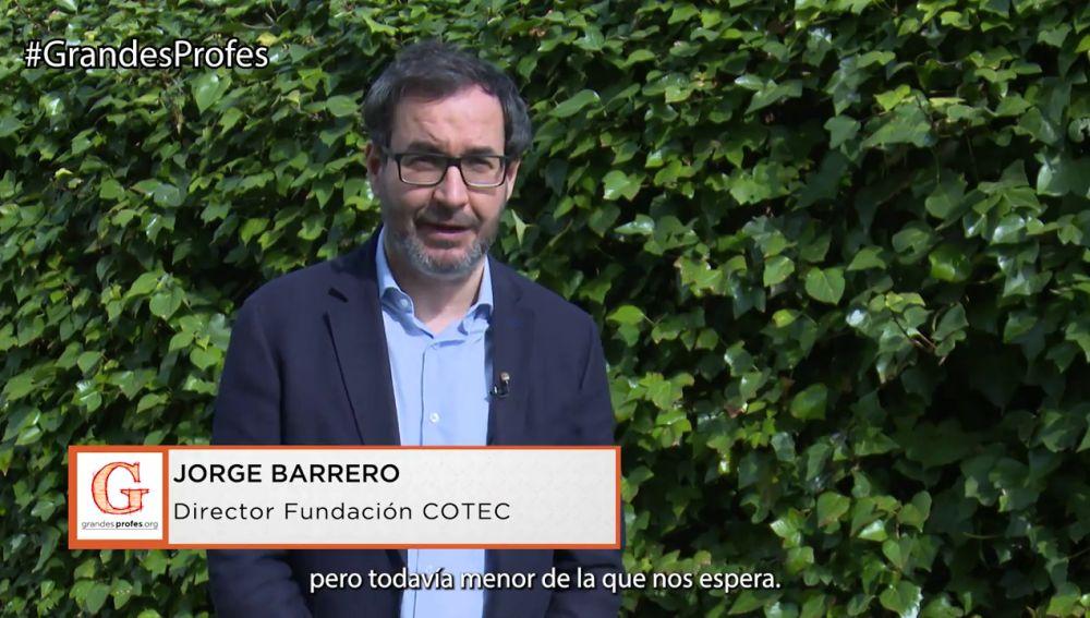 Jorge Barrero: La tecnología avanza a una velocidad impresionante, pero todavía menor de lo que nos espera