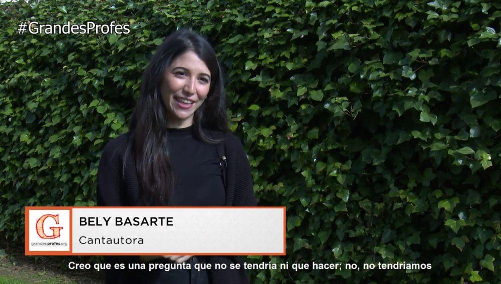 Bely Basarte reflexiona sobre la importancia de la música en la educación
