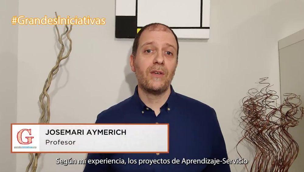 El profesor Josemari Aymerich anima a los docentes a fomentar la Convivencia en el Aula desde el Aprendizaje-Servicio