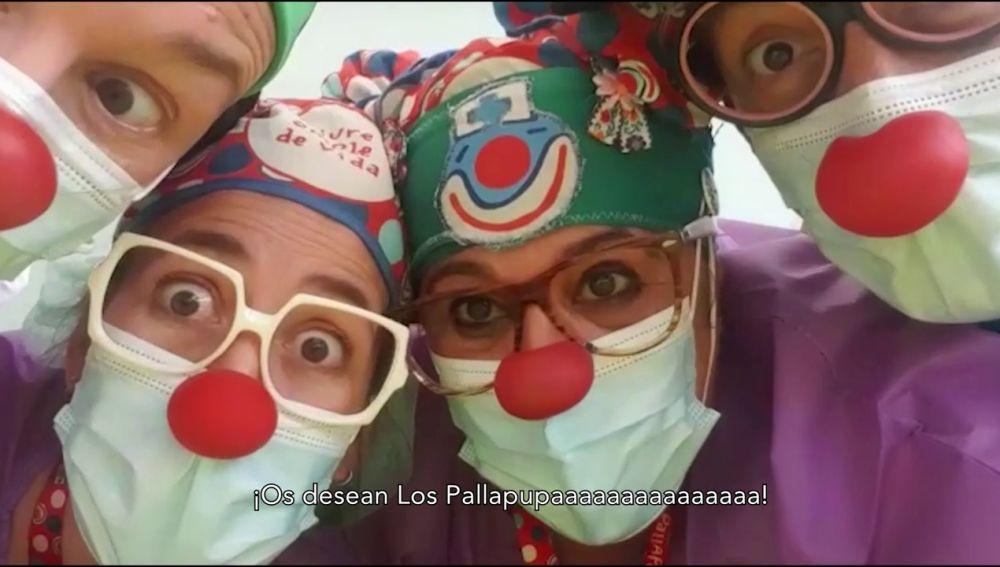 Besos de los Pallapupas por el Día del Niño Hospitalizado