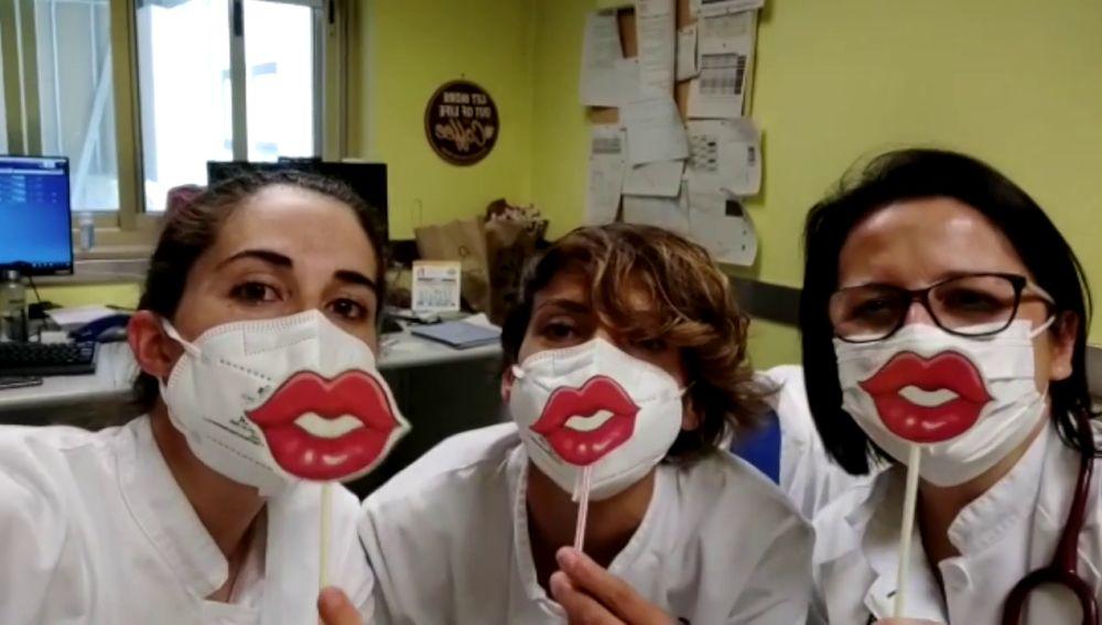 Besos redondos para todos los niños desde el Hospital de Txagorritxu