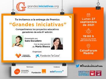 Entrega de Premios Grandes Iniciativas